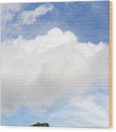 One Tree Hill Wood Print