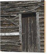 One White Board Wood Print