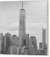 One World Trade Center Wood Print