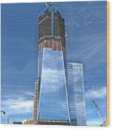 One World Trade Wood Print