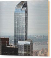 One57 And Park Hyatt Hotel In Nyc Wood Print