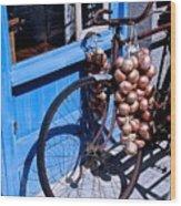 Onion Johnnies Wood Print