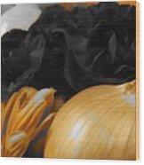 Onion  Wood Print