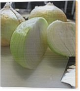 Onions I Wood Print