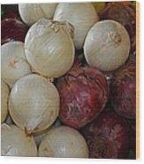 Onions IIi Wood Print