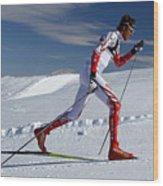 Online Winter Sports Equipment Wood Print
