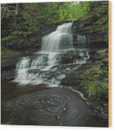 Onondaga Falls 2 Wood Print