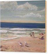 Onslow Beach Wood Print