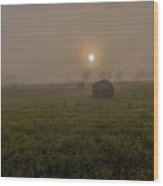 Ontario Highlands Dawn Wood Print