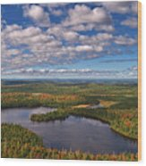 Ontario Outlook Vista Wood Print