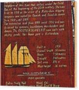 Oosterschelde Story Wood Print