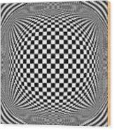 Op Art 1 Wood Print