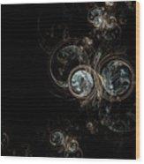 Opal Wood Print