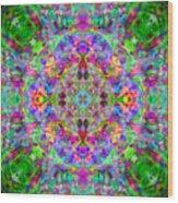 Opal Yantra Wood Print