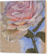 Opalescence Wood Print