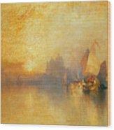 Opalescent Venice Wood Print