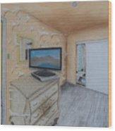 Open Doors Wood Print