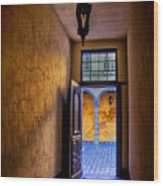 Open Doorway Wood Print