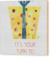 Open Gifts- Card Wood Print