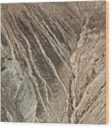open pit mine Kennecott, copper, gold and silver mine operation Wood Print