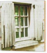 Open The Window Wood Print