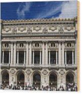 Opera Garnier. Paris. France Wood Print