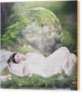 Ophelia's Peace Wood Print