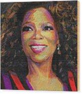 Oprah Wood Print
