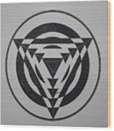 Optical Wood Print