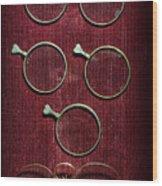 Optician - Optometrist Lens Wood Print