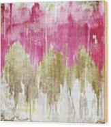 Opulence Rose Wood Print