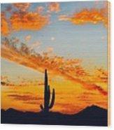 Orange Blossom Moments Wood Print