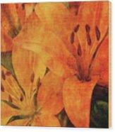 Orange Cluster 9225 Idp_2 Wood Print