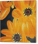 Orange Delight Wood Print