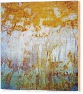 Orange Rim Wood Print