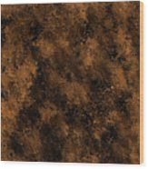 Orange Textures 001 Wood Print