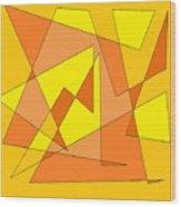 Orange You Banana Wood Print