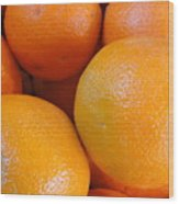 Orange You Glad Wood Print