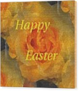 Orange You Lovely Easter Wood Print