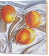 Oranges 2 Wood Print