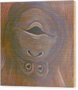 Orangutan Love Wood Print