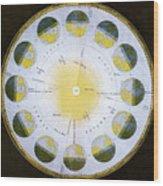 Orbit Of The Earth Wood Print