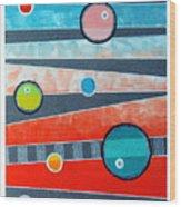 Orbs On Planes #2 Wood Print