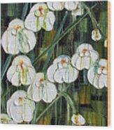 Orchid Dance Wood Print