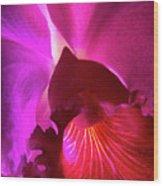 Orchid Landscape Wood Print