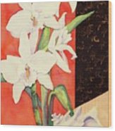 Orchid Medley Wood Print
