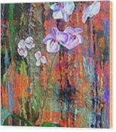 Orchid O Wood Print
