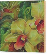 Orchid Series 11 Wood Print
