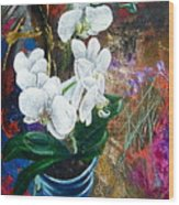 Orchid You Wood Print