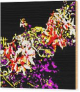 Orchidelia Wood Print